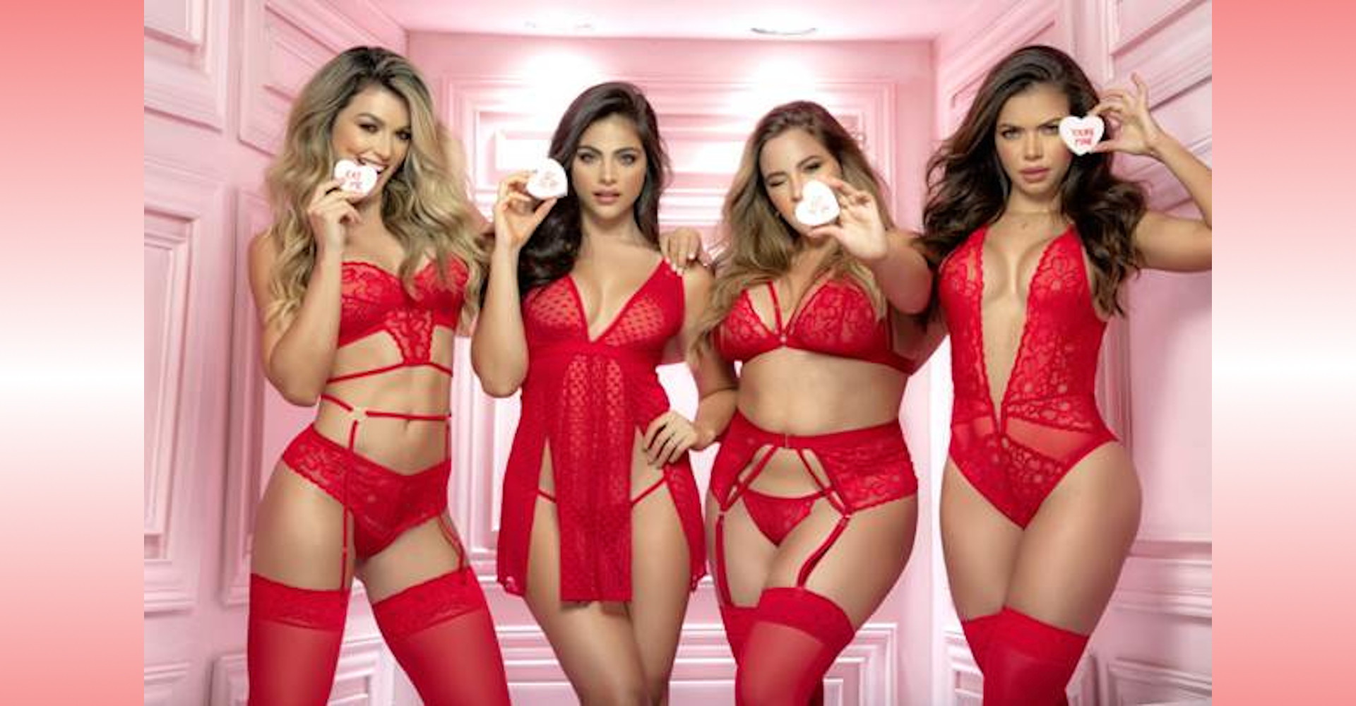 Mapale Valentine's Day Lingerie