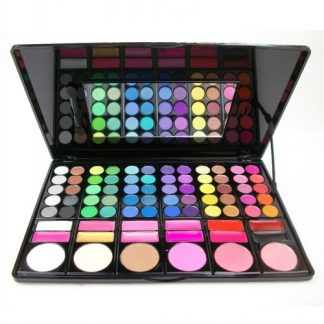 Envy Body Shop Professional MSQ Cosmetics 78 Color Eyeshadow and Blush Palette