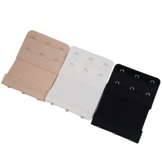 Bra Extender Envy Body Shop 3 Hook Beige White Black