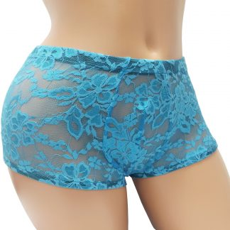 Envy Body Shop Sissy Pouch Lace Boyshorts Panty for Men