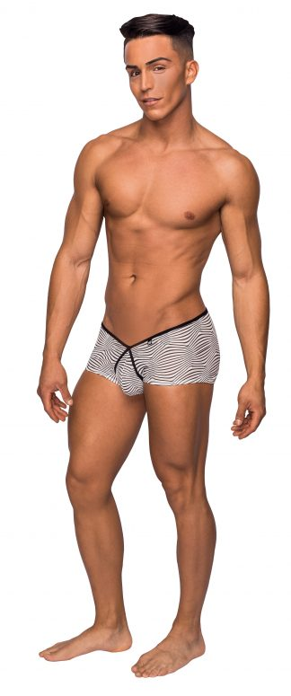 Male Power 130234 Black/White Mini Short