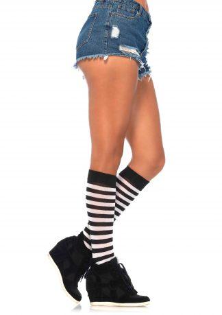 Stripe Knee Hi