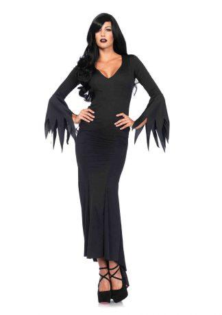 Floor Length Gothic Dress