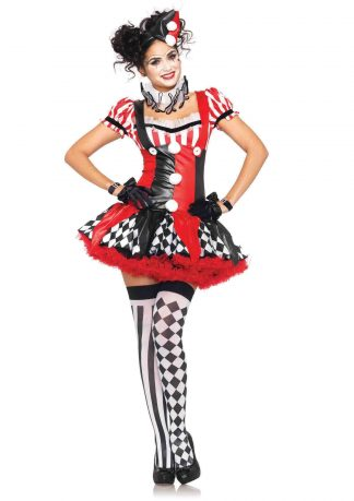 3PC Harlequin Clown