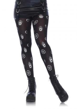 Mystical Symbol Tights LA-7741