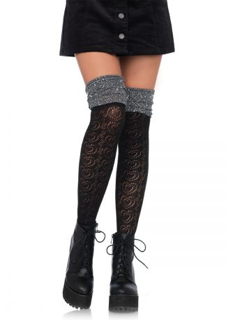 Sweetheart Knit Over the Knee Sock LA-6344