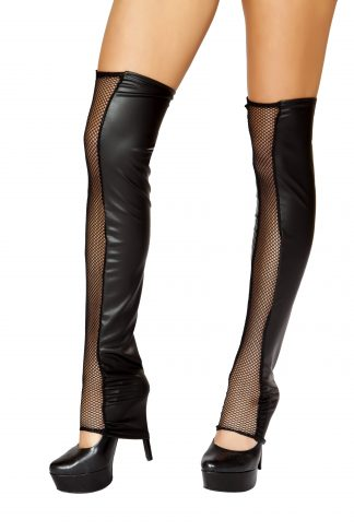 Black Fishnet Leg Warmer RM-ST105