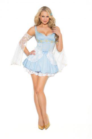 9372X Lace Trim Petticoat EM-9372X
