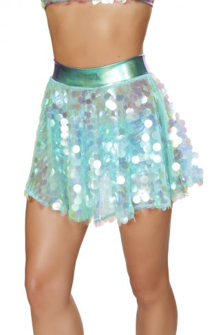 1pc Flare Sequin Skirt RM-3600