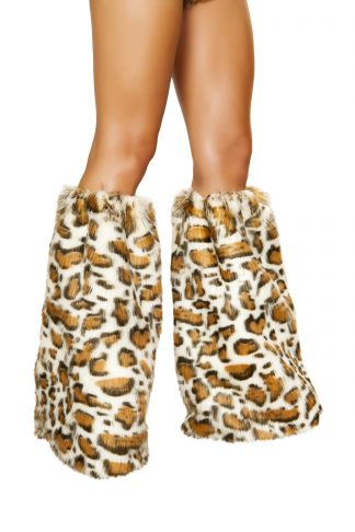 Pair of Leopard Leg Warmers RM-4890
