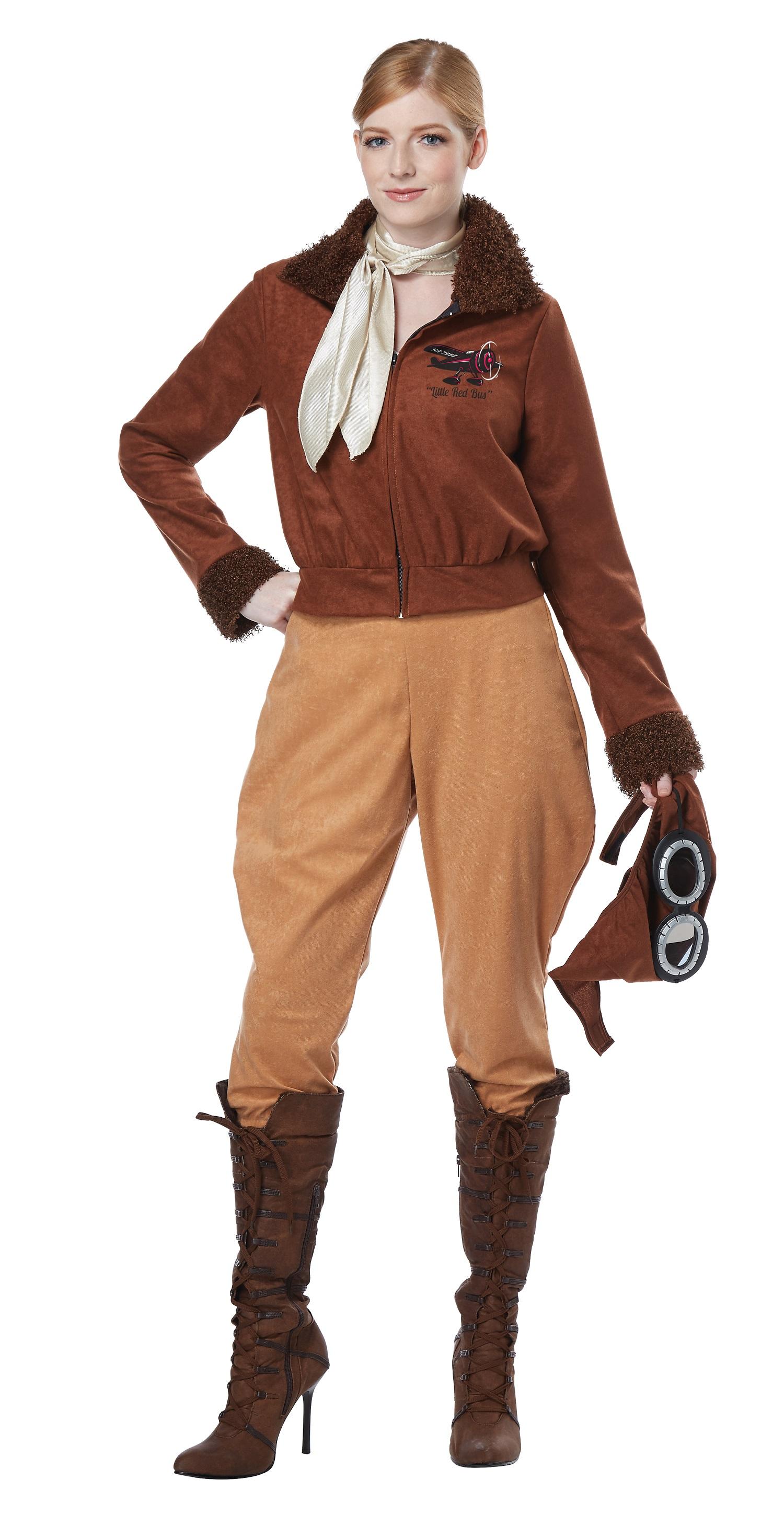 Amelia Earhart / Aviator Costume