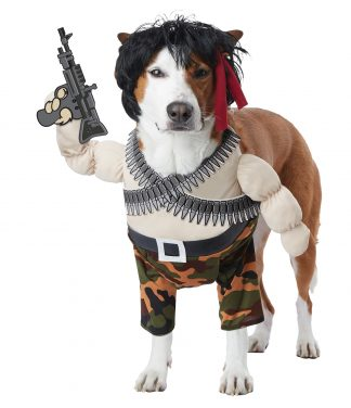 Action Hero Dog Costume CCC-PET20156