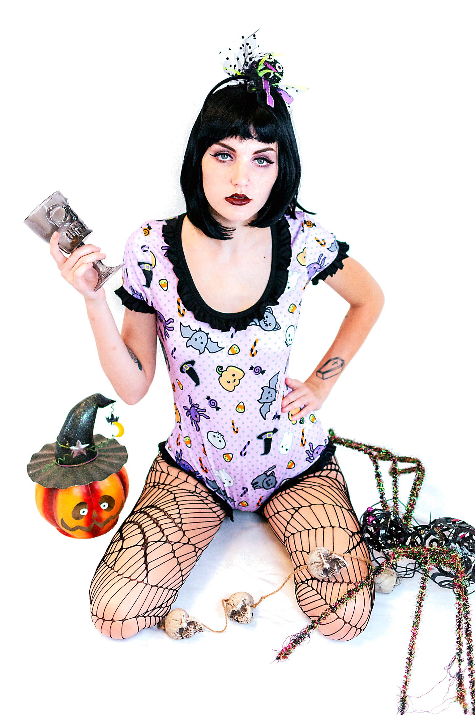 Spooky Halloween Romper Envy Body Shop