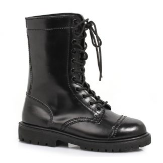 """161-HONOR 1"""" Ankle Women'S Combat Boot With Laces"""