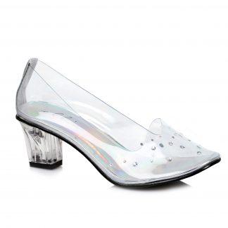 "213-ANASTASIA 2"" Heel Clear Slipper"