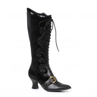 "253-FAIN 2.5"" Heel Boot With Lace"