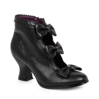 "253-MISSY 2.5"" Heel Bootie With Bows"