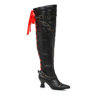 "253-TREASURE 2.5"" Thigh High Boot With Laces"