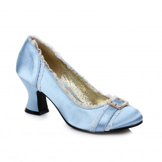 "254-EDITH 2.5"" Heel Satin Shoe"