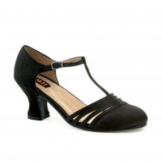 "254-LUCILLE 2.5"" Heel Satin Dance Shoe"