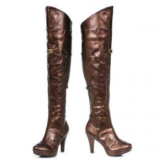 414-BLAIR 4 Inch Womens Thigh High Boot
