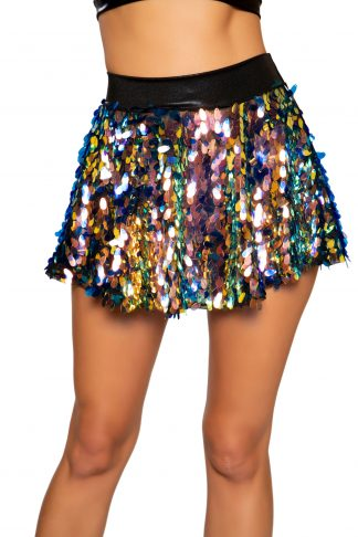Tear Drop Sequin Skirt