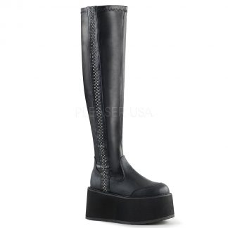 DAMNED-302 Women's Over-the-Knee Boots