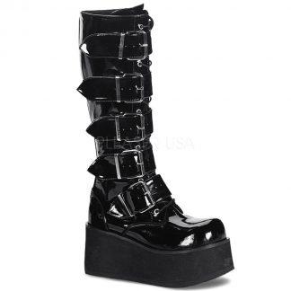TRASHVILLE-518 Unisex Platform Shoes & Boots
