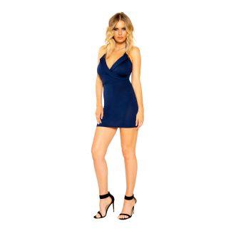 Collared Mini Dress