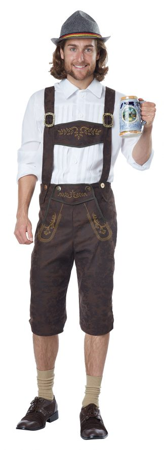 Oktoberfest Man Adult Costume