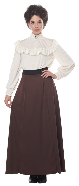 English Suffragette Adult Costume