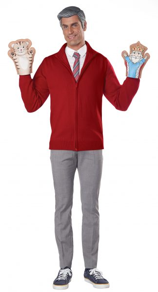Be My Neighbor Kit With Sweater Adult Costume