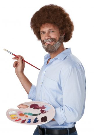 Joyful Painter Wig, Beard & Moustache
