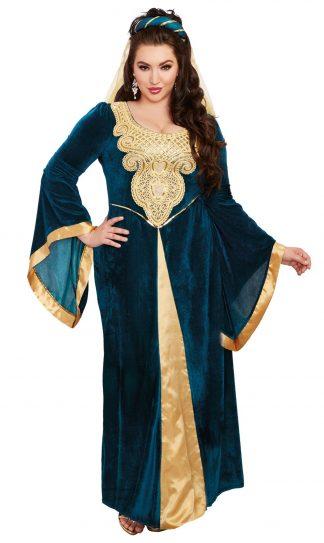 Medieval Maiden Plus Costume