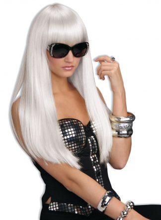 White Hot Wig