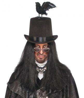 Adult Raven Top Hat