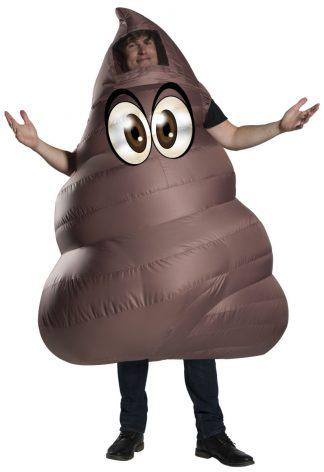 Funflatable Adult Poop Costume