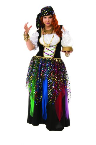 Adult Gypsy Plus Size Costume