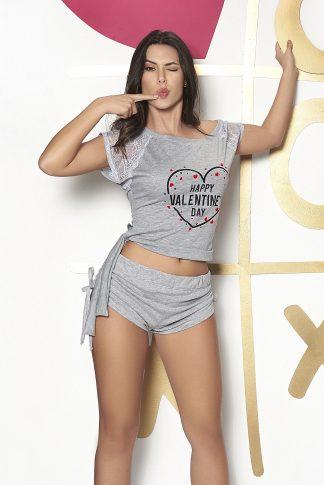 7287 Two Piece Pajamas Set