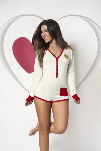 7295 Long Sleeve Sleep Romper