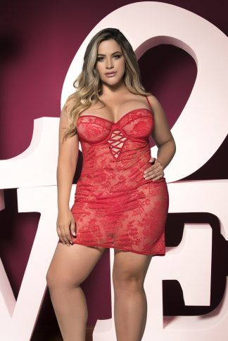 7205X Babydoll with Matching G-String