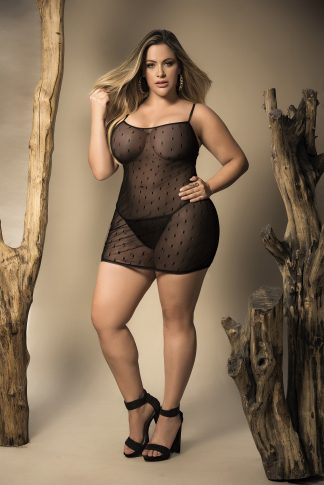 8429X Babydoll with Matching G-String