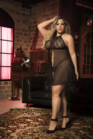 8442X Babydoll with Matching G-String