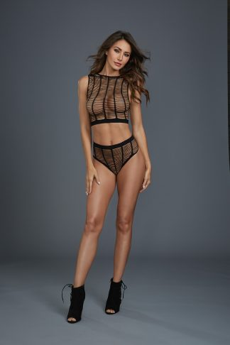 11834 Crop Top and Panty