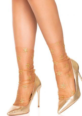 Glitter Star Tulle Anklet