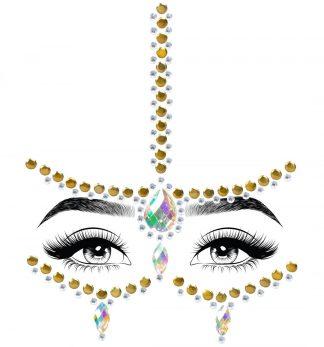 Eden Adhesive Face Jewels Sticker