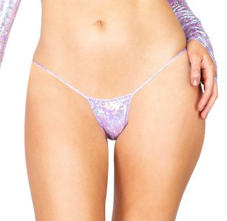 1pc Iridescent Shimmer Micro Bottoms
