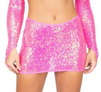 1pc Sequin Skirt