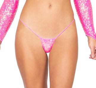 1pc Sequin Micro Bottoms
