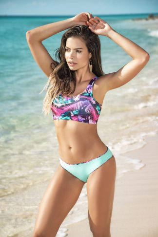 6585 Reversible Two Piece Swimsuit